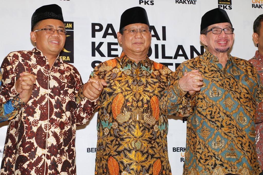 PKS Yakin Prabowo Memilih Salim Segaf