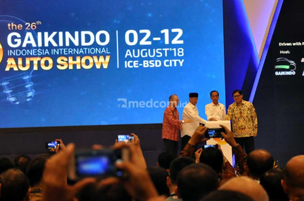 Jokowi Harap, Pameran Otomotif Bisa Tingkatkan Pasar Ekspor