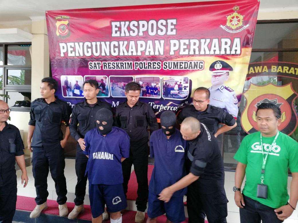 Polisi Tangkap Pembunuh Sopir Taksi Online di Sumedang
