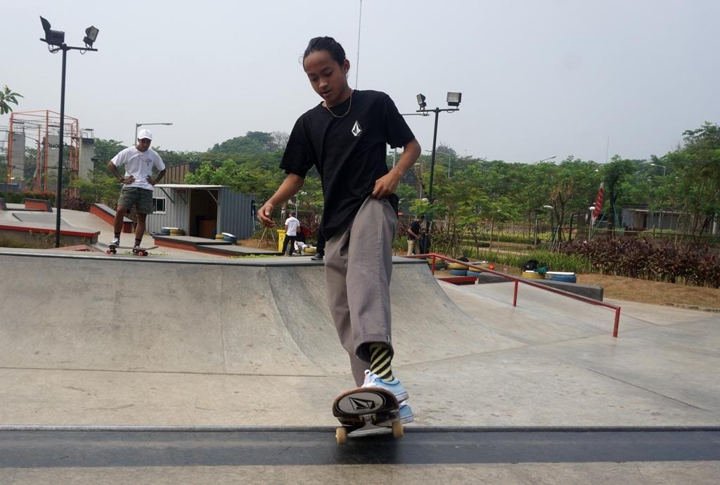 Sanggoe Bicara Peluang Timnas Skateboard di Asian Games 2018