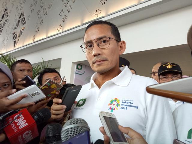 Spanduk yang Salah Penulisan Asian Games akan Diganti