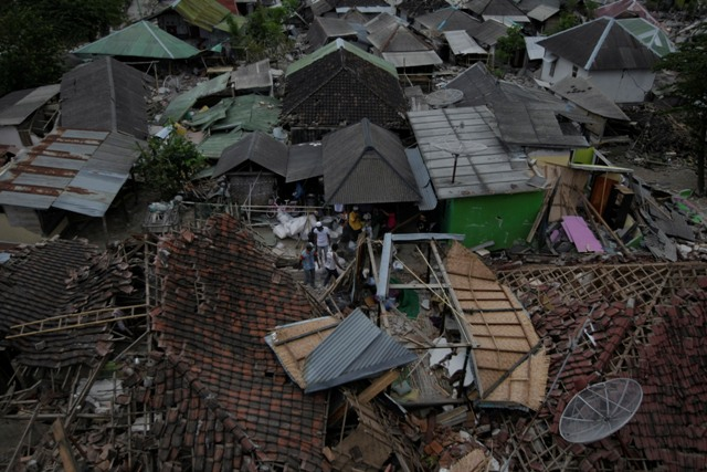 Korban Meninggal Akibat Gempa Lombok 108 Orang