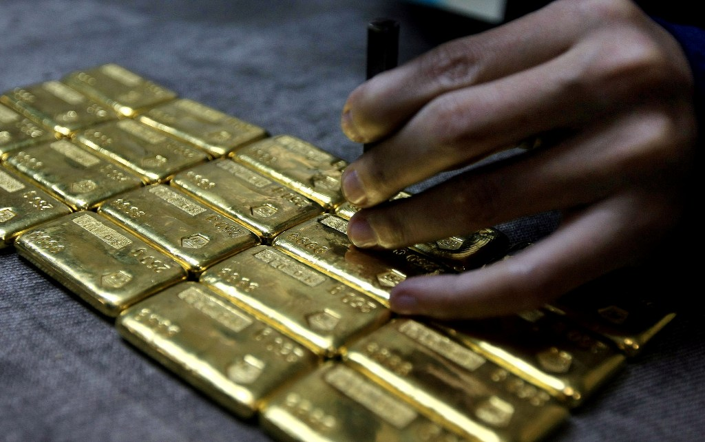 Kemilau Emas Antam Menguat jadi Rp653 Ribu/Gram