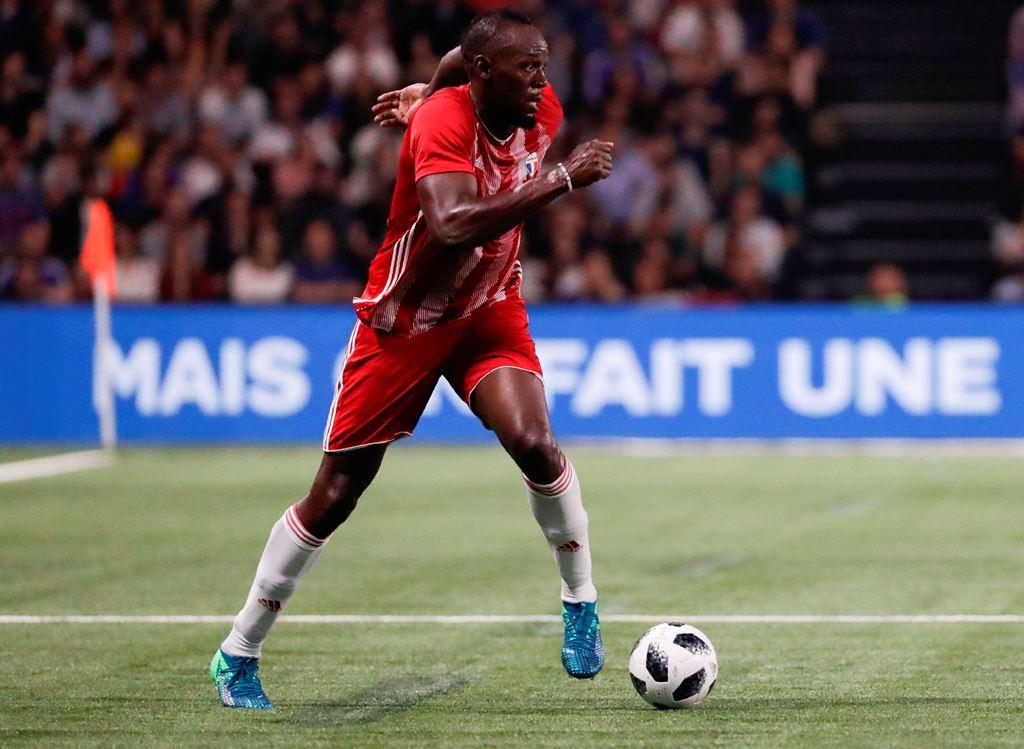 Usain Bolt Berlatih dengan Klub Liga Australia