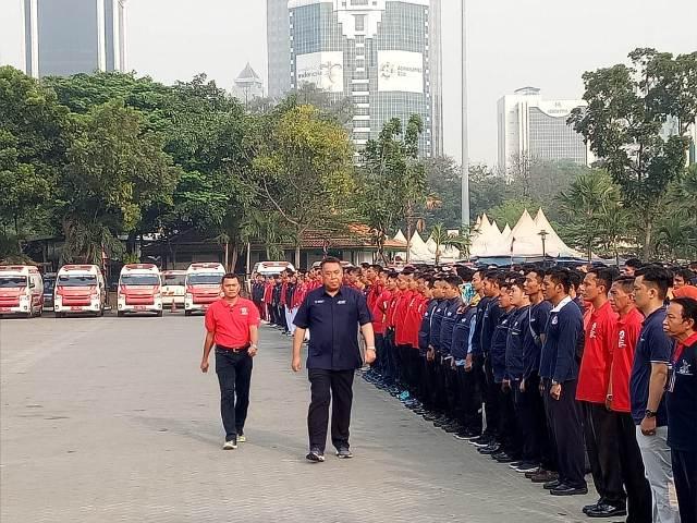 Kemenkes Gelar Apel Siaga Jelang Asian Games