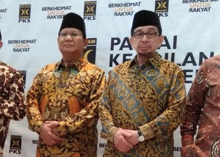 Prabowo Gelar Pertemuan Tertutup dengan Salim Segaf