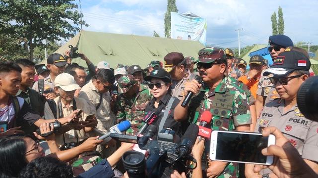 KRI Suharso Sediakan Pelayanan Kesehatan Korban Gempa Lombok