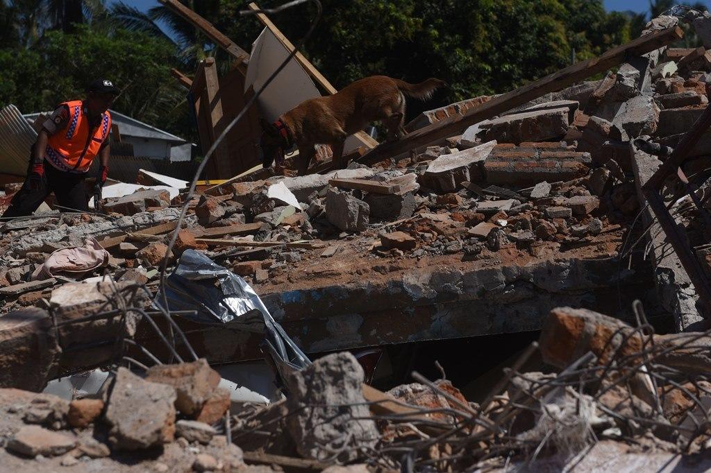 Gempa 3,9 SR Kembali Guncang Lombok Utara