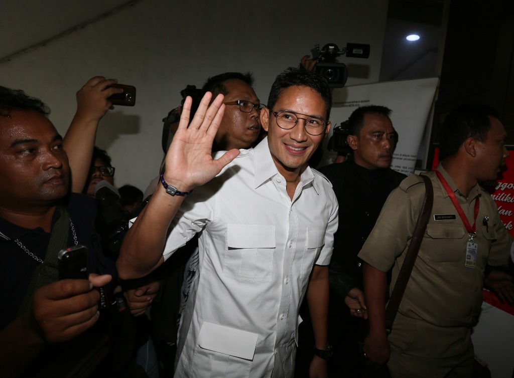 Gerindra Bantah Sandiaga Bayar Rp500 Miliar untuk Jadi Cawapres