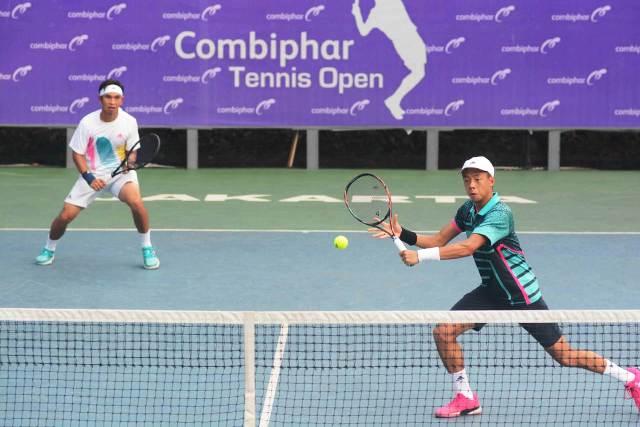 Aroma Asian Games di Perempat Final Combiphar Tennis Open