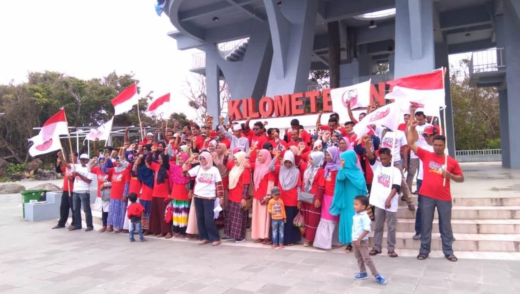 Jokowi Didukung Warga Perbatasan