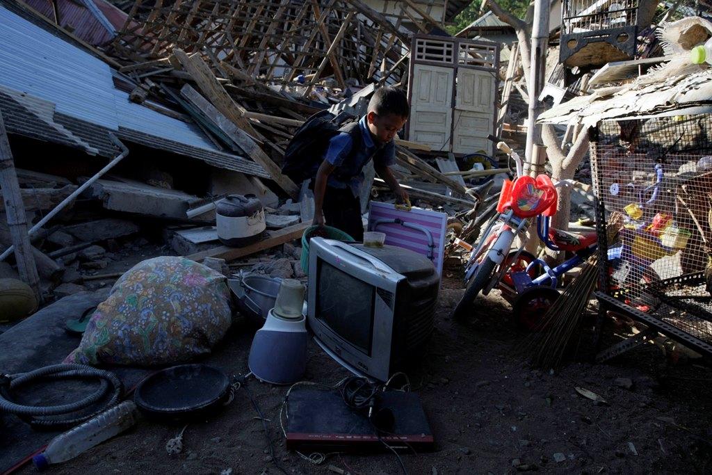 Jumlah Korban Gempa Lombok Bertambah Menjadi 131 Jiwa