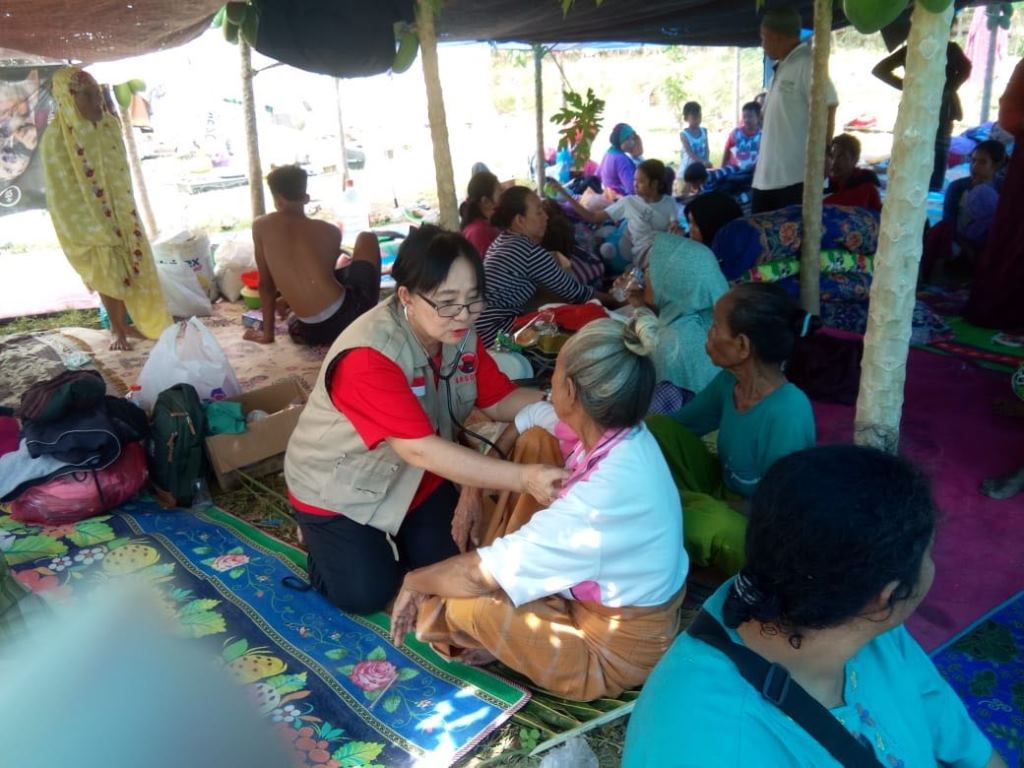 1.000 Relawan PDIP Bantu Korban Gempa Lombok