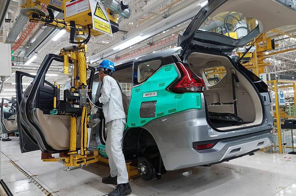 Mitsubishi Geber Produksi Xpander untuk Kuota Ekspor