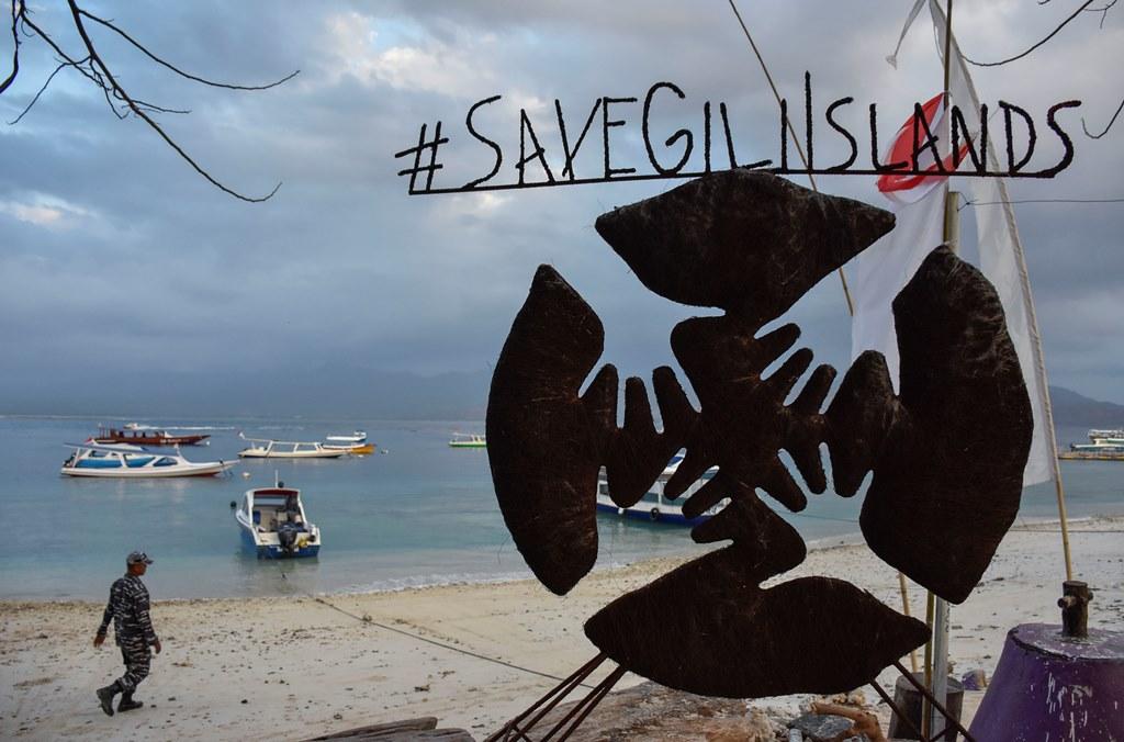 8.381 Korban Selamat Gempa Lombok di 3 Gili