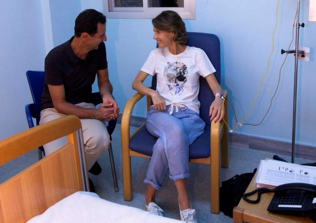 Istri Presiden Suriah Jalani Perawatan Kanker Payudara