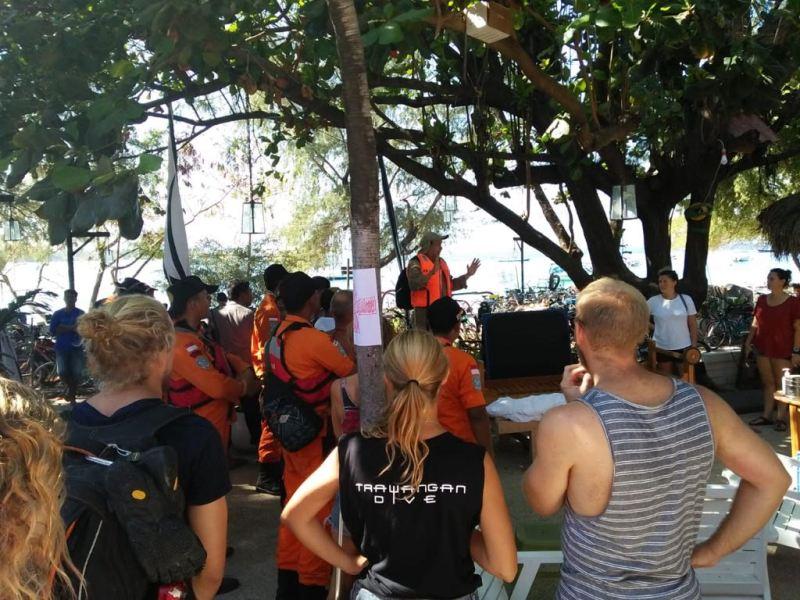 Tim Kemenlu Sisir 3 Gili Cari Wisatawan Asing untuk Dievakuasi