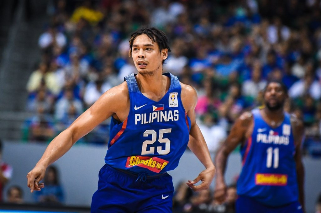 Basket Putra Filipina Daftar Ulang Asian Games