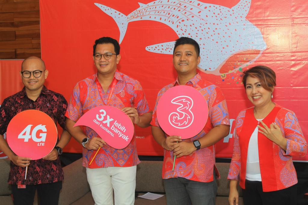 Tri Bawa Jaringan 4G LTE ke Gorontalo