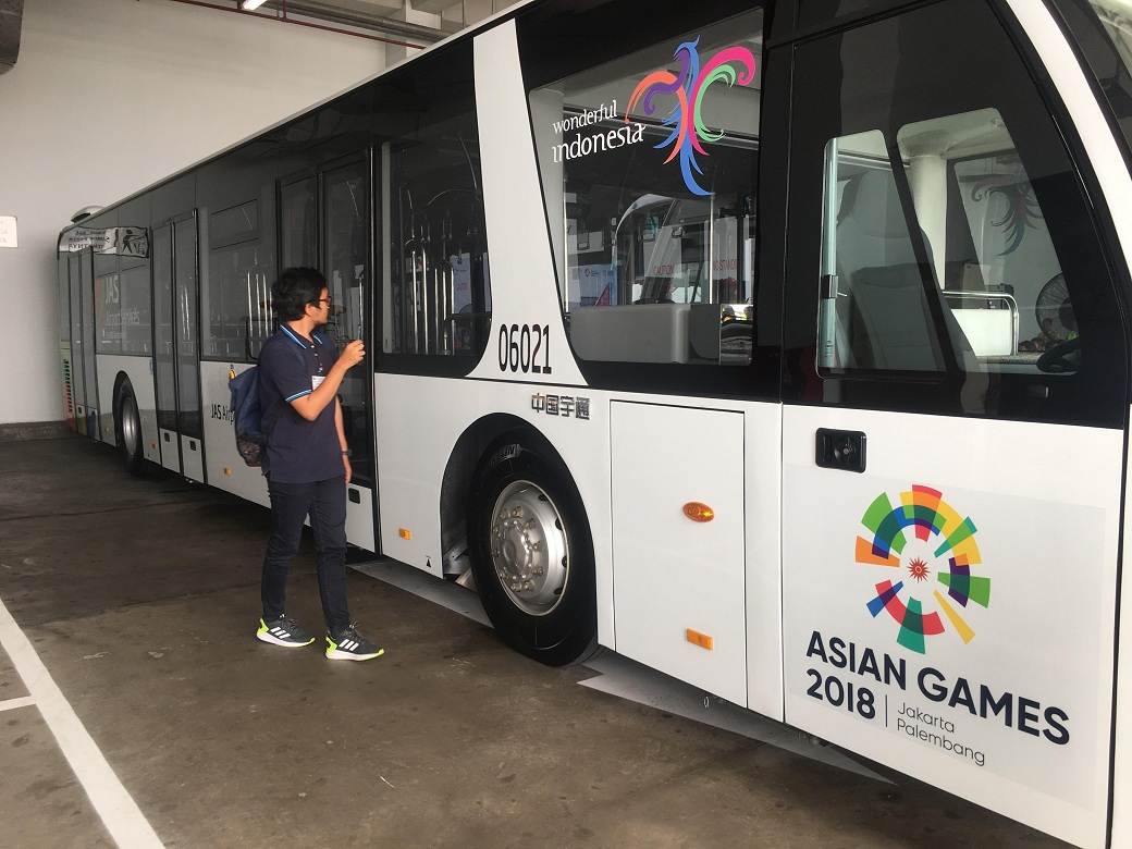 Sambut Asian Games, Lima Bus Apron Lower Deck Beroperasi di Bandara Soetta