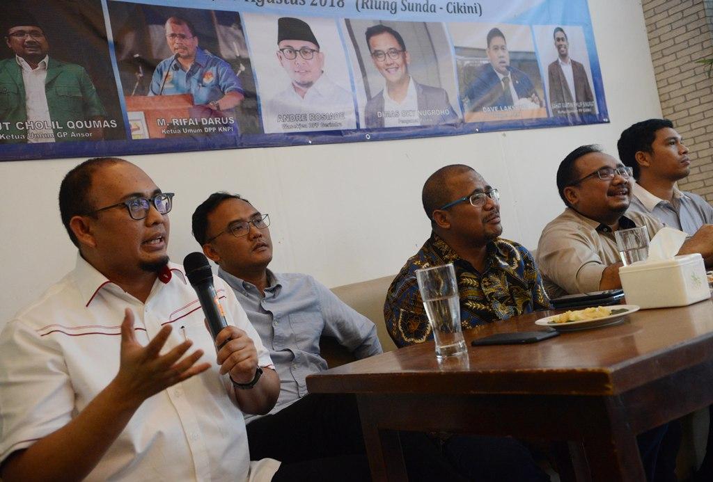 Gerindra: Cuitan Andi Arief Dongeng