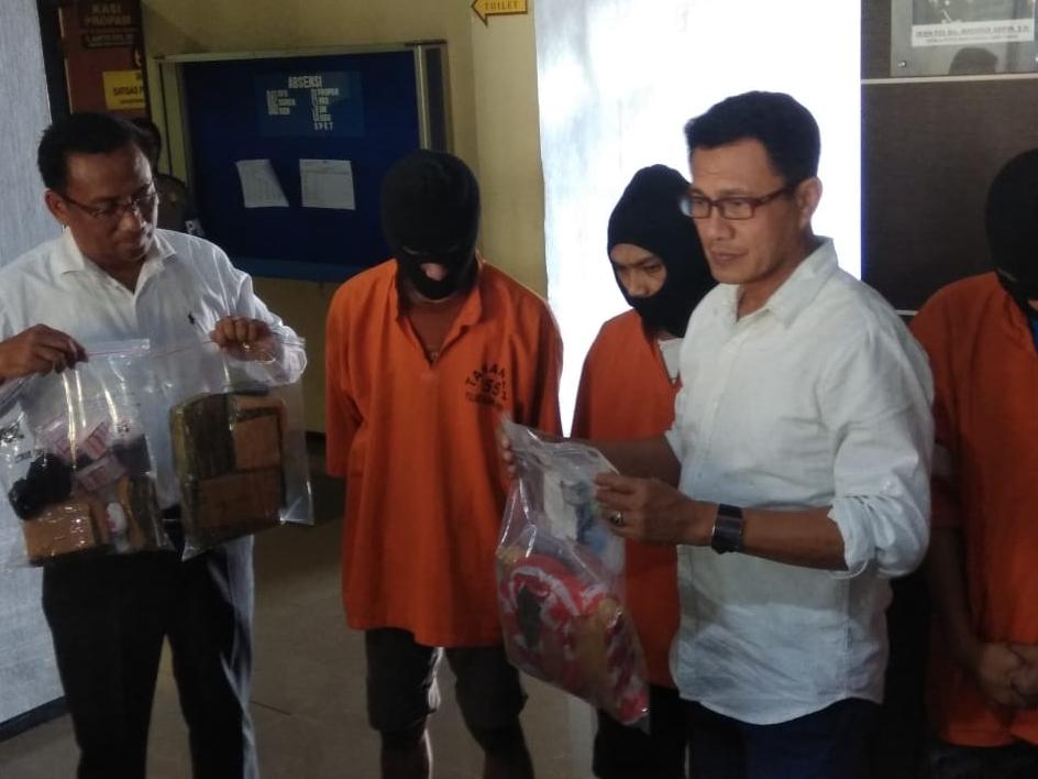 Narapidana Lima Bulan  Transaksi Narkoba di Lapas Malang