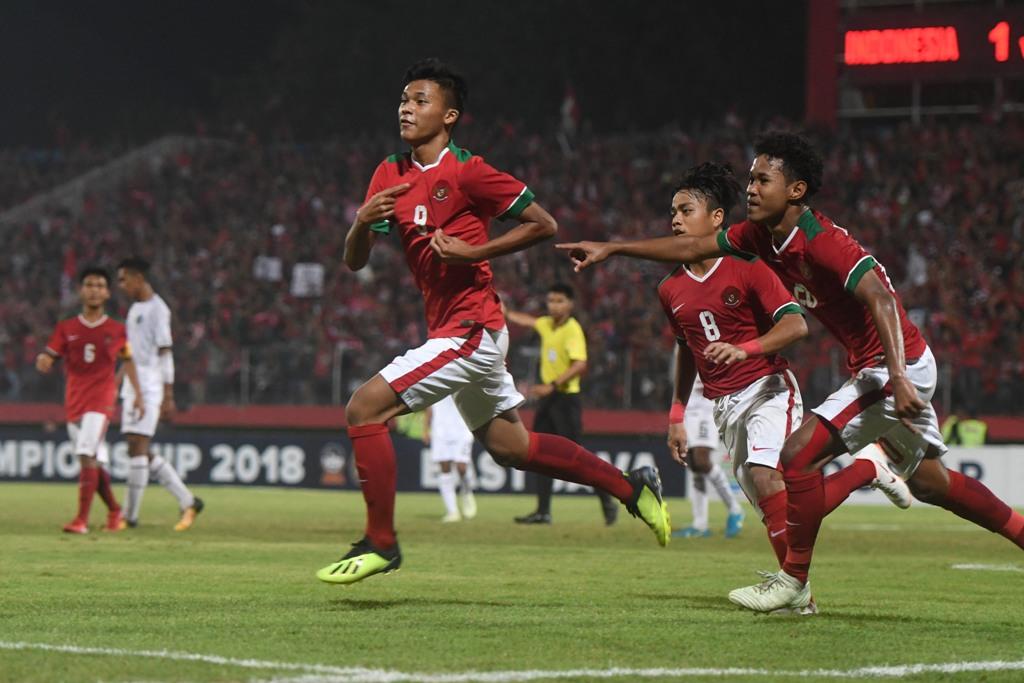 Susunan Pemain Indonesia U-16 vs Malaysia U-16