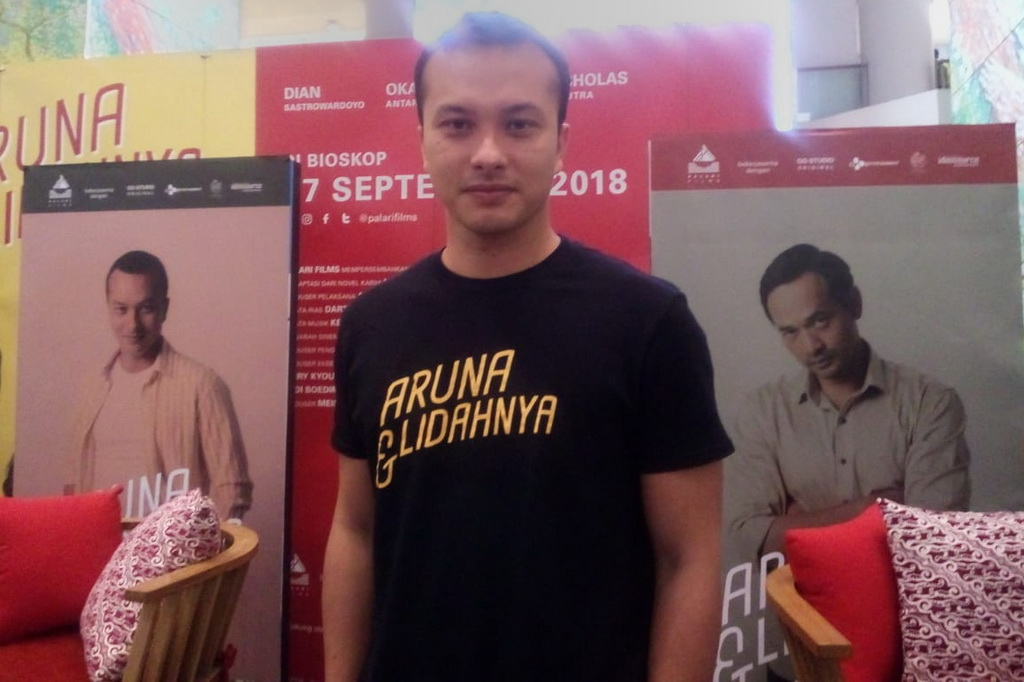 Nicholas Saputra Sempat Tertarik Produseri Film Aruna dan Lidahnya