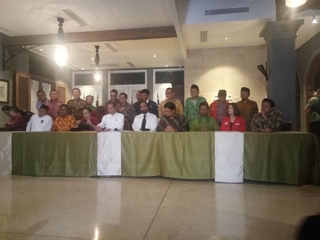 Jokowi: Saya dan KH Ma'ruf Amin Saling Melengkapi