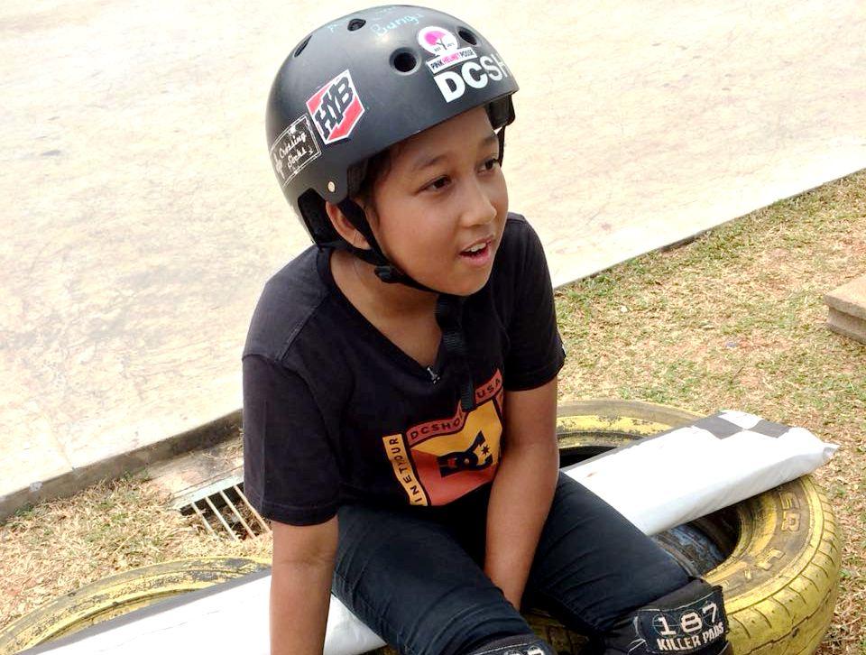 Profil Aliqqa Kayyisa, Atlet Skateboard Indonesia Berusia 9 Tahun