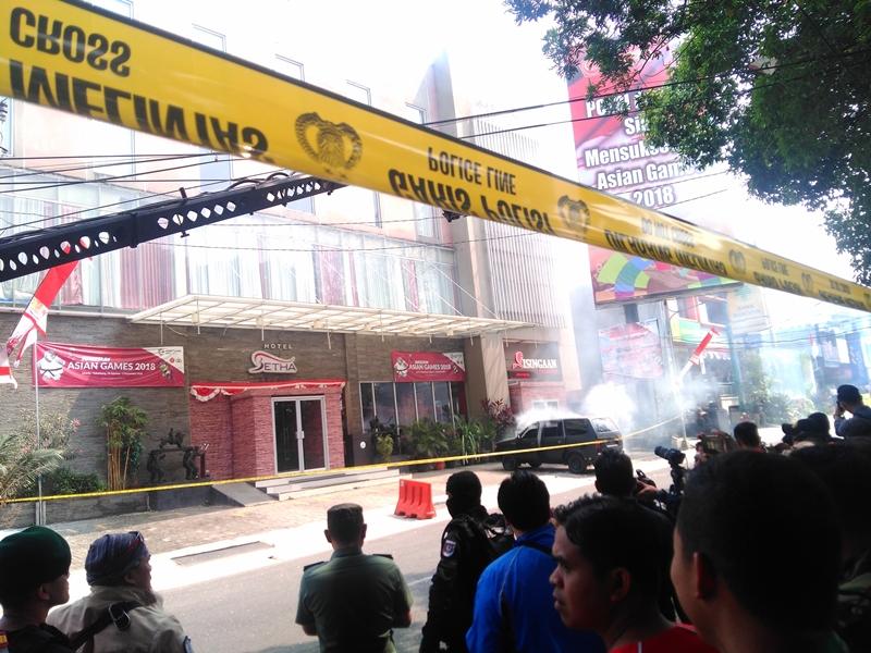 Hotel di Subang 'Diserang'