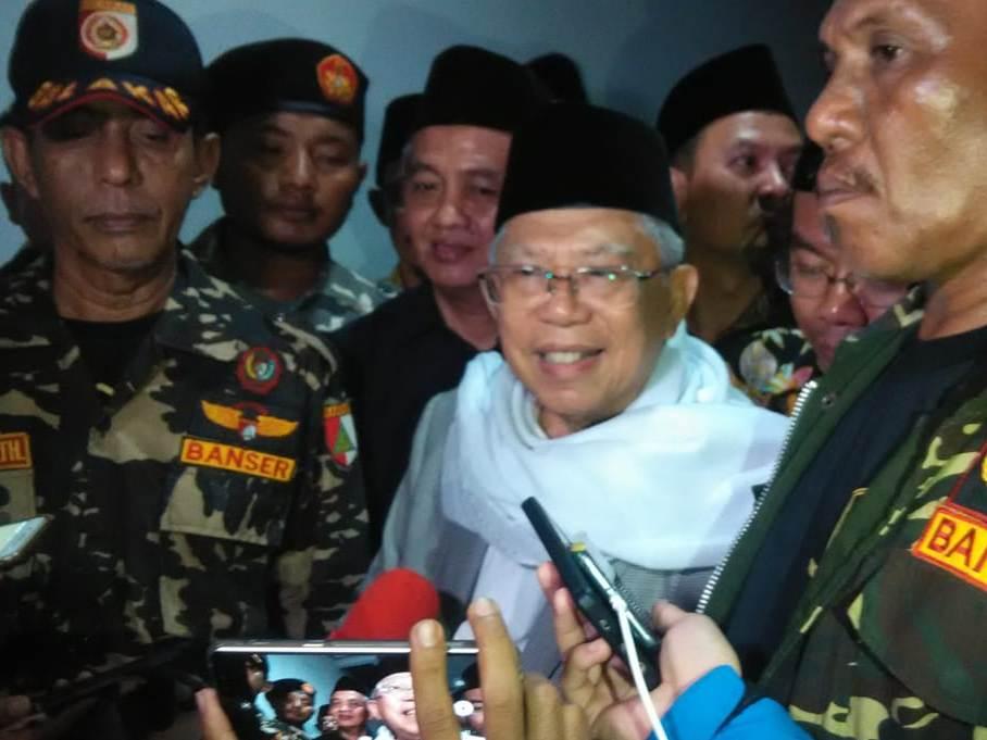 Ma'ruf Amin Kaget Jadi Cawapres Jokowi