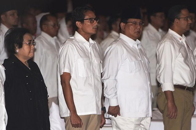 Prabowo Gandeng Sandiaga sebagai Cawapres