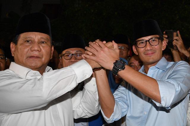 Deklarasi Prabowo-Sandiaga Atas Sepengetahuan SBY