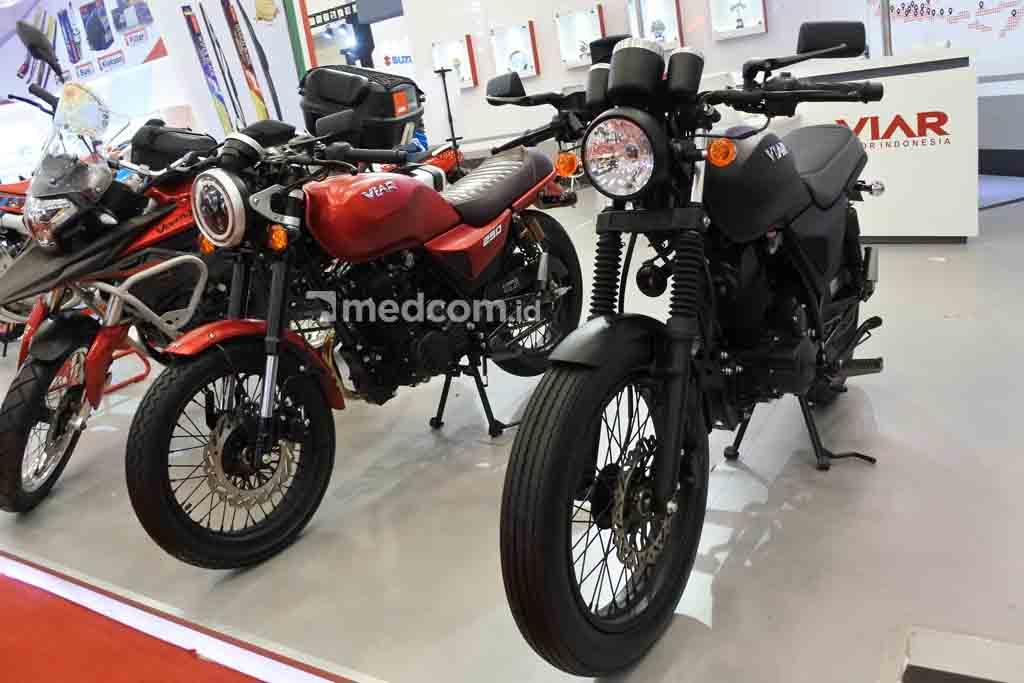Intip Motor Klasik Viar, Pesaing Kawasaki W175