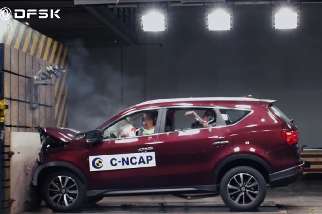Tak Mudah Dapat Rating Bintang Lima di Uji Tabrak Mobil