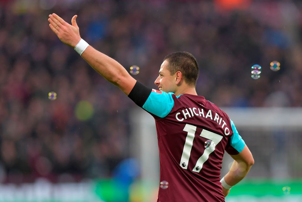 Chicharito Optimistis West Ham Finis Empat Besar Musim Ini