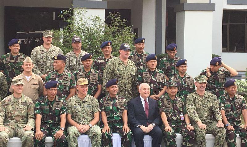TNI AL dan Pasukan AS Latihan Bersama Perkuat Stabilitas