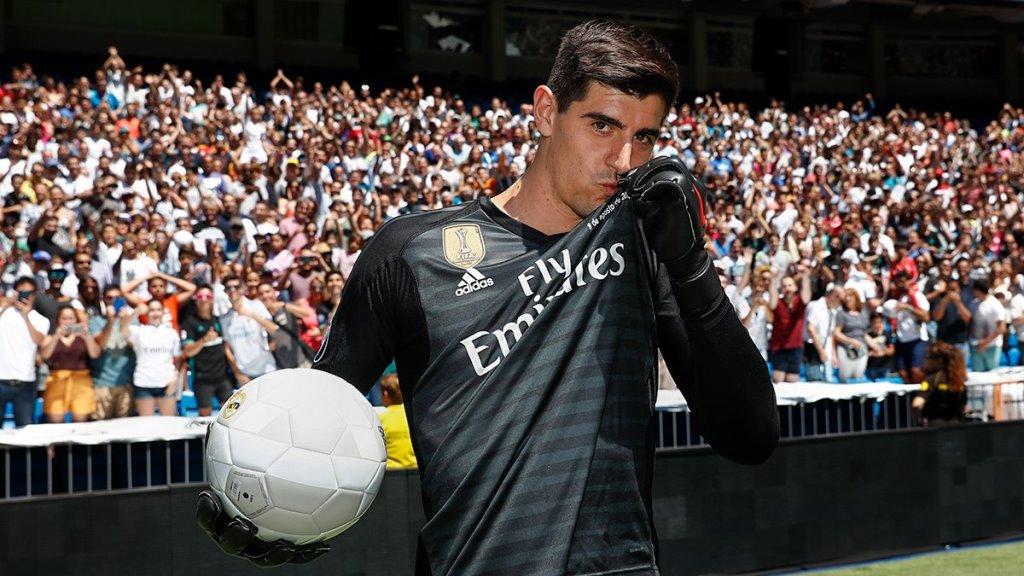 Gabung Madrid, Mimpi Courtois jadi Kenyataan