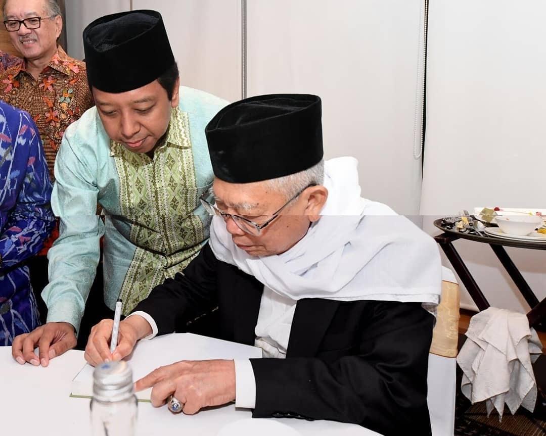 Tiga Alasan Kiai Ma'ruf Amin Cawapres Jokowi