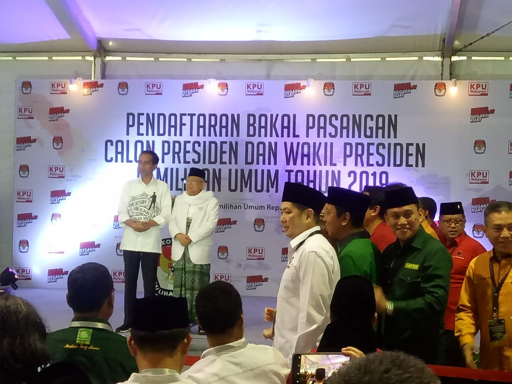 PSI dan Perindo Dicoret dari Daftar Pengusung Jokowi