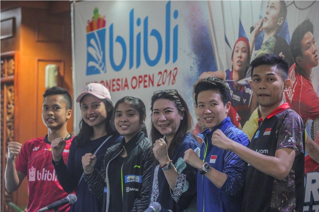 Tim Bulu Tangkis Indonesia tinggal Fokus Jaga Kebugaran