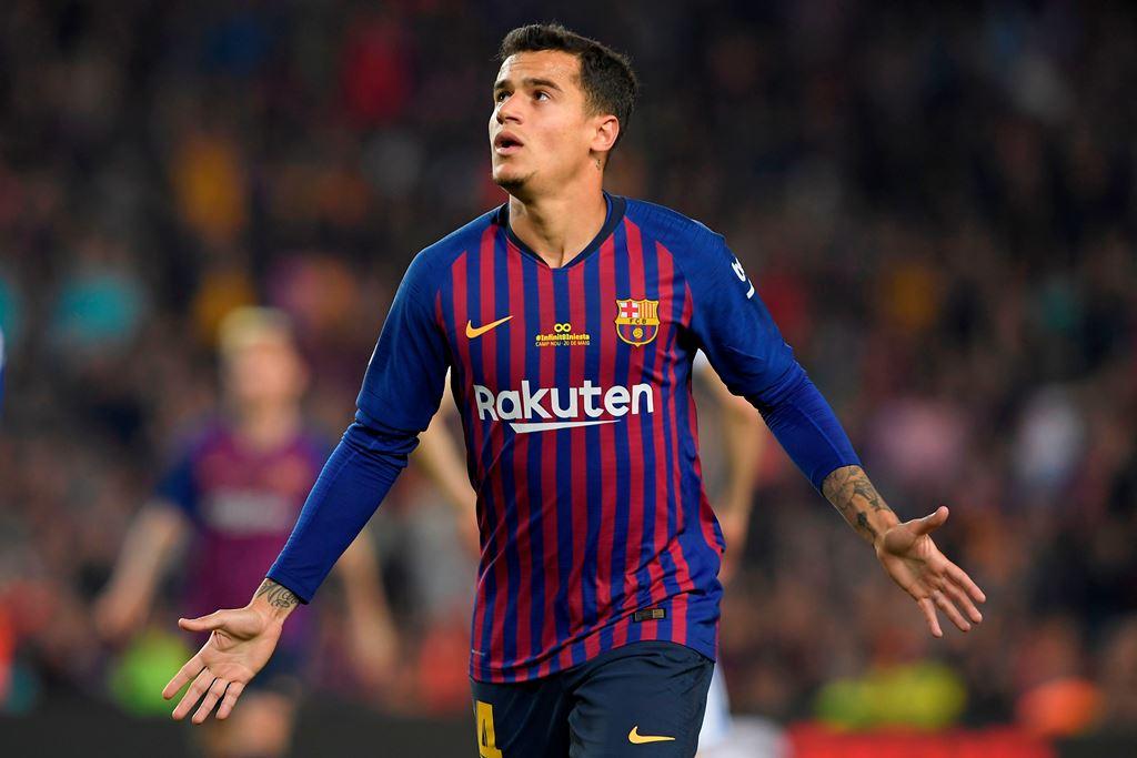 Coutinho Kenakan Nomor Punggung 7 di Barcelona