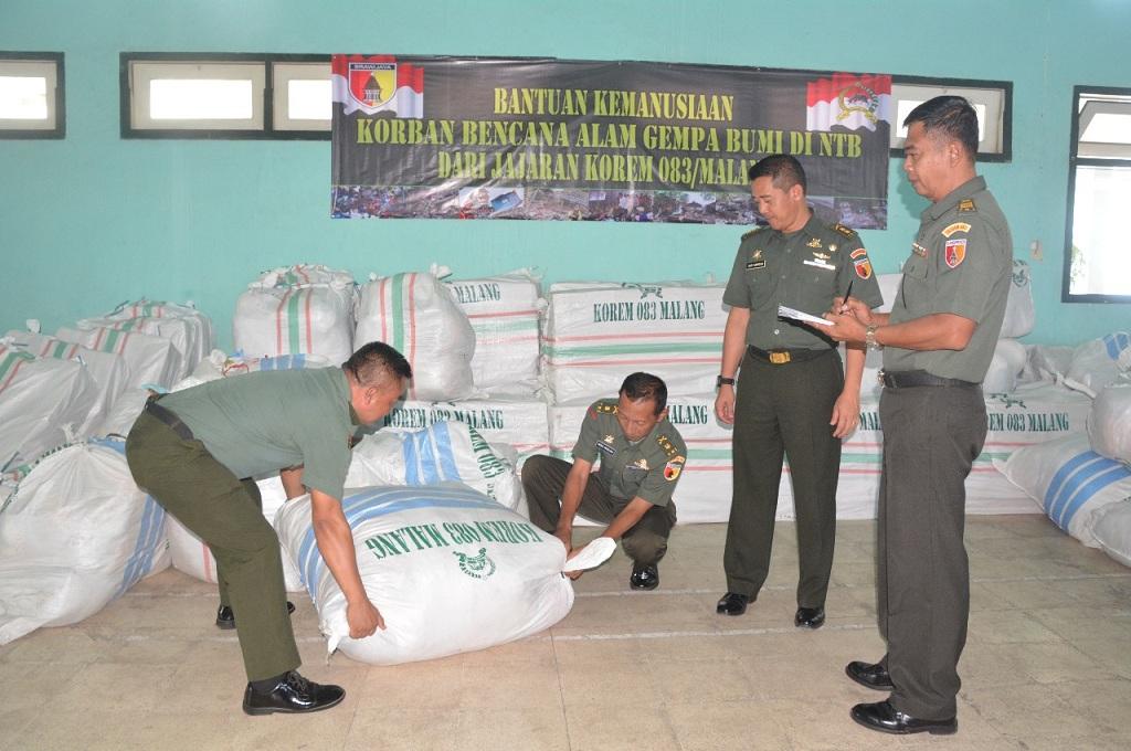 Uang, Pakaian, hingga Mi Instan Dikumpulkan untuk Warga Lombok