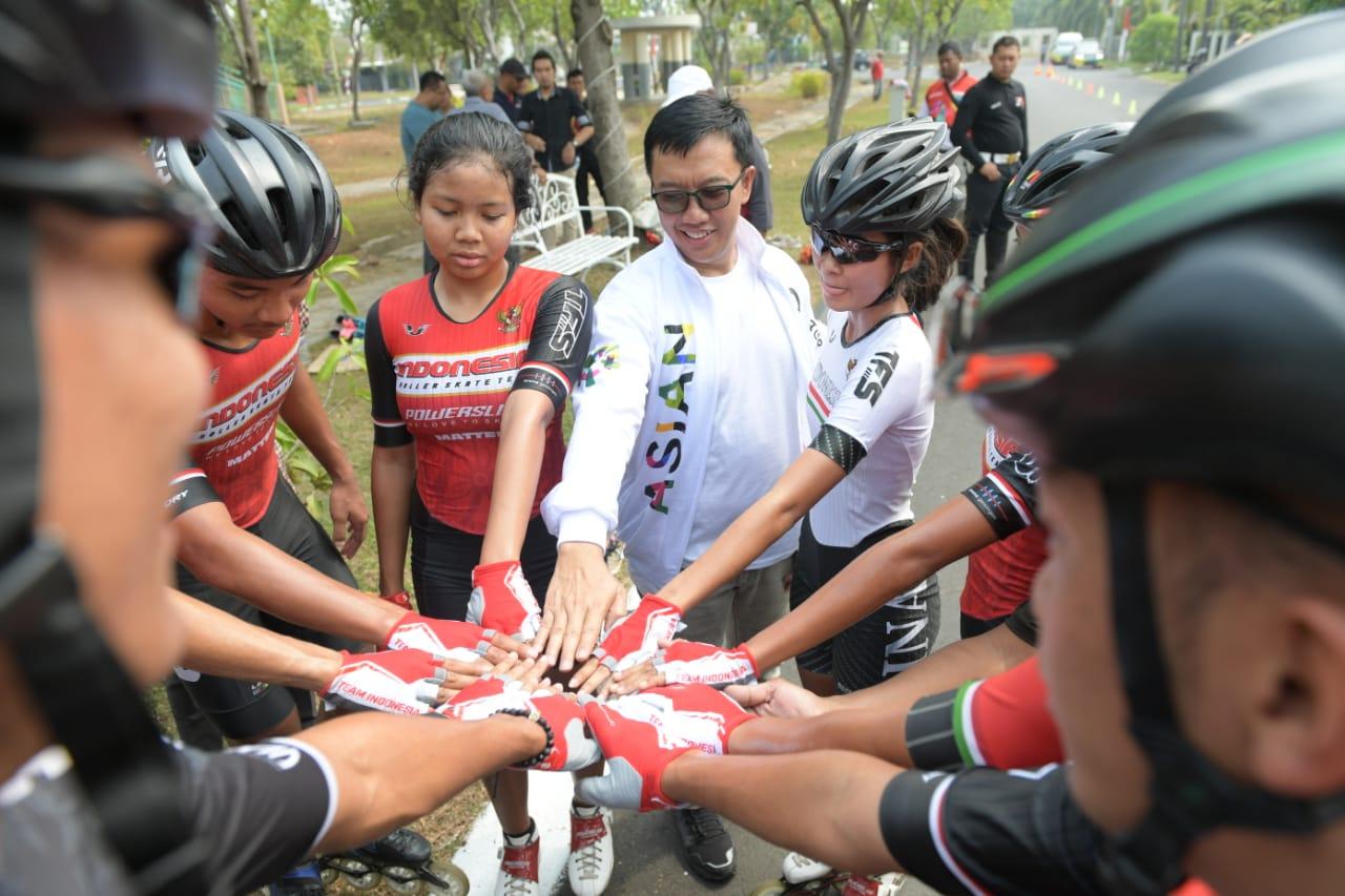 Menpora Apresiasi Persiapan Pelatnas Sepatu Roda Indonesia