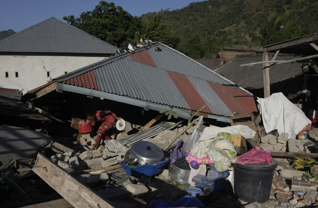 Korban Meninggal Gempa Lombok Jadi 321 Orang