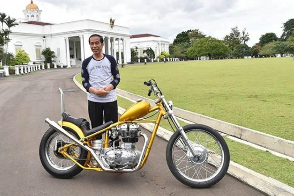 Soal Motor, Jokowi Suka Yamaha, Prabowo Pilih Suzuki