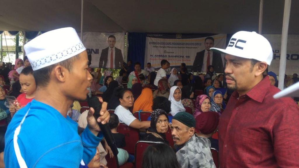 Ahmad Sahroni Ajak Masyarakat Berdemokrasi Tanpa Paksaan