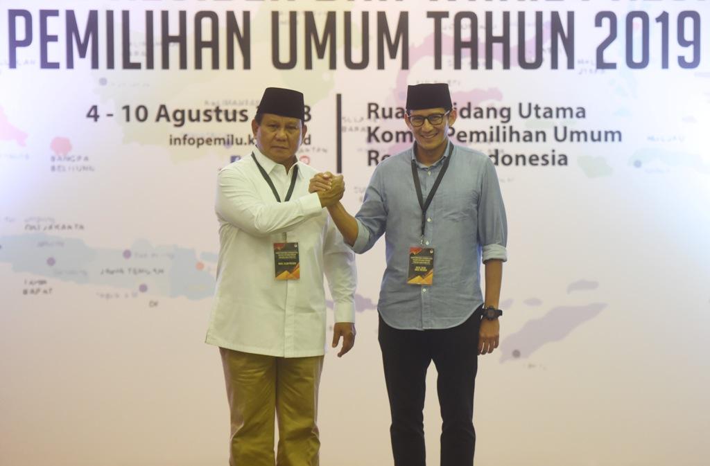 NasDem Enggan Nilai Kelemahan Prabowo-Sandiaga