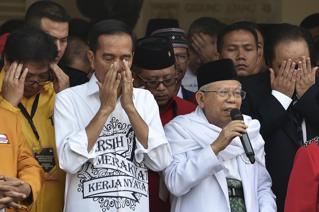 Kiai Ma'ruf Amin Diharap Tinggalkan Jabatan  Ketua MUI